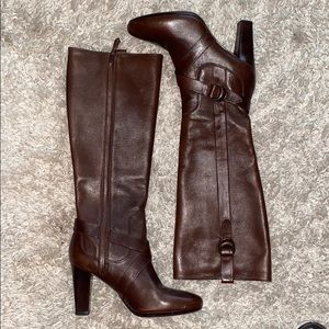 ColeHaan leather boots Nije air